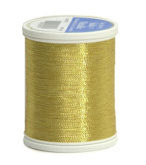 Sulky King Metallic Thread-1000 yds., Gold/7007