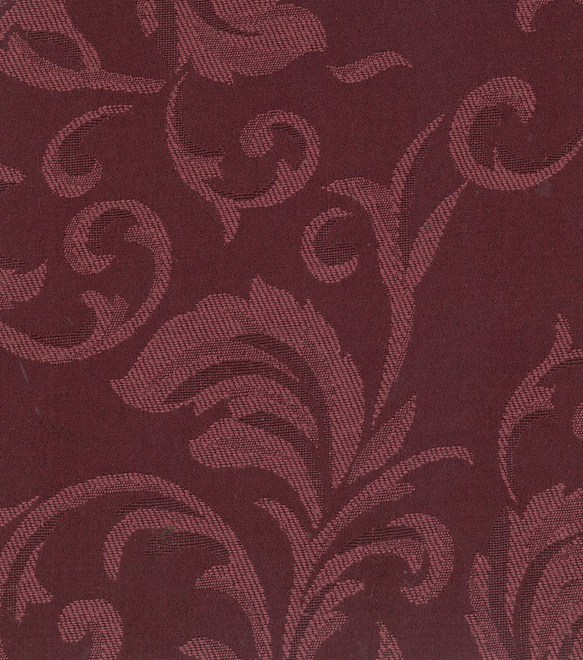 Signature Series Lightweight Decor Jacquard Fabric 54\u0022-Burgundy