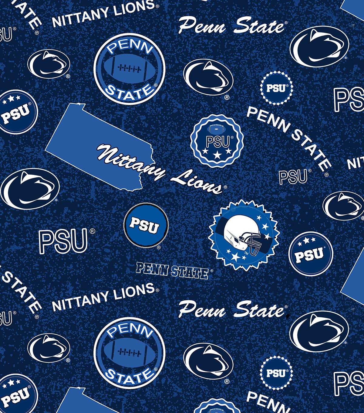 Penn State University Nittany Lions Cotton Fabric-Home State