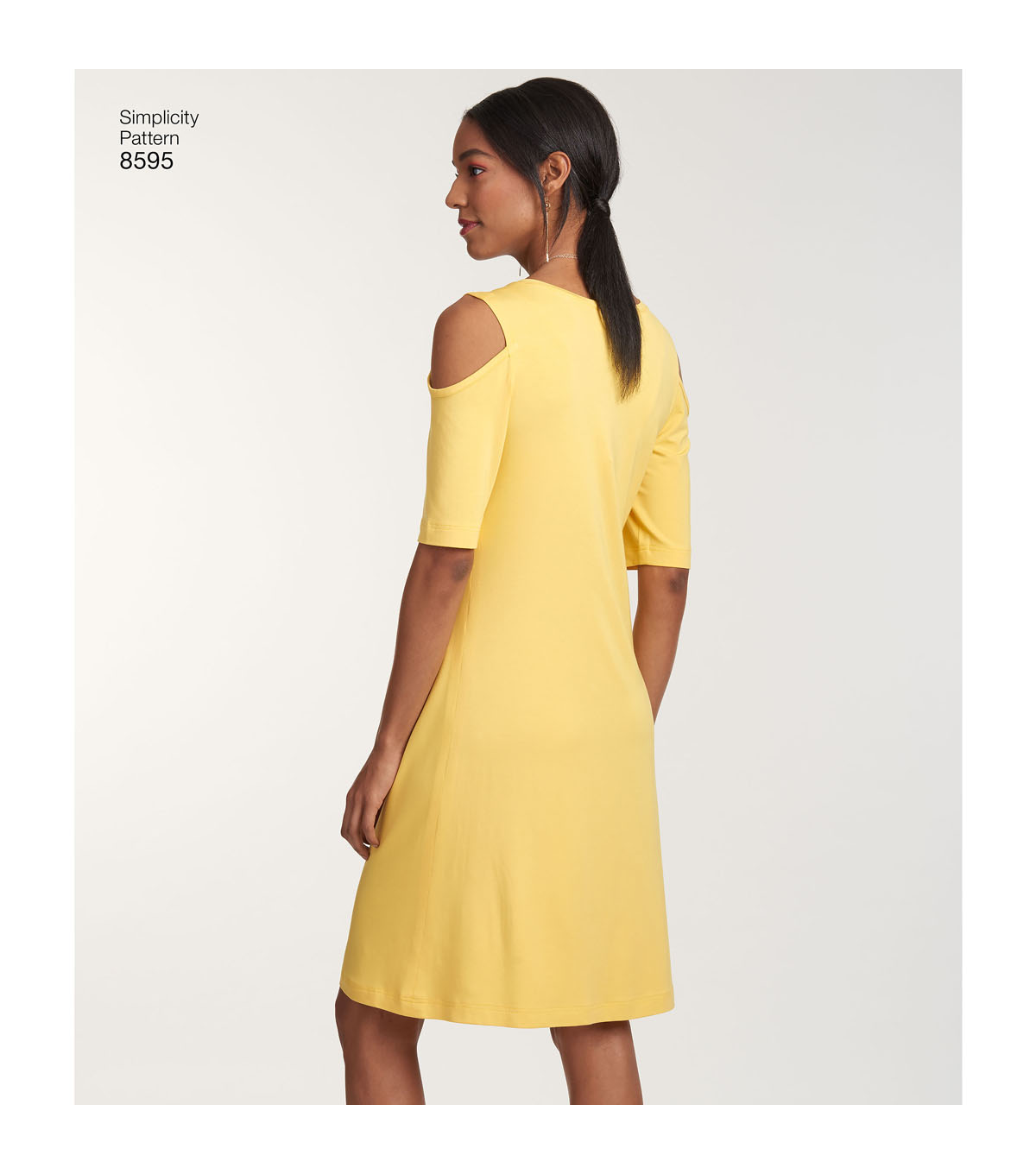 Simplicity Pattern 8595 Misses\u0027 Easy-to-Sew Knit Dresses-Size A (XS-XL)