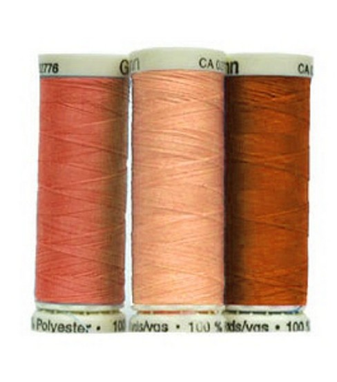 Gutermann Sew All Polyester Thread 110 Yards-Oranges & Yellows