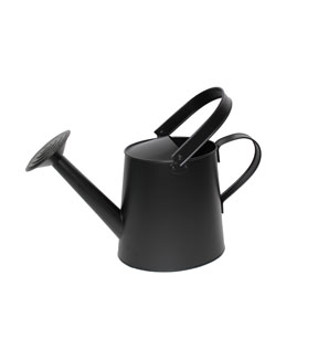 Hello Spring Gardening Watering Can-Black