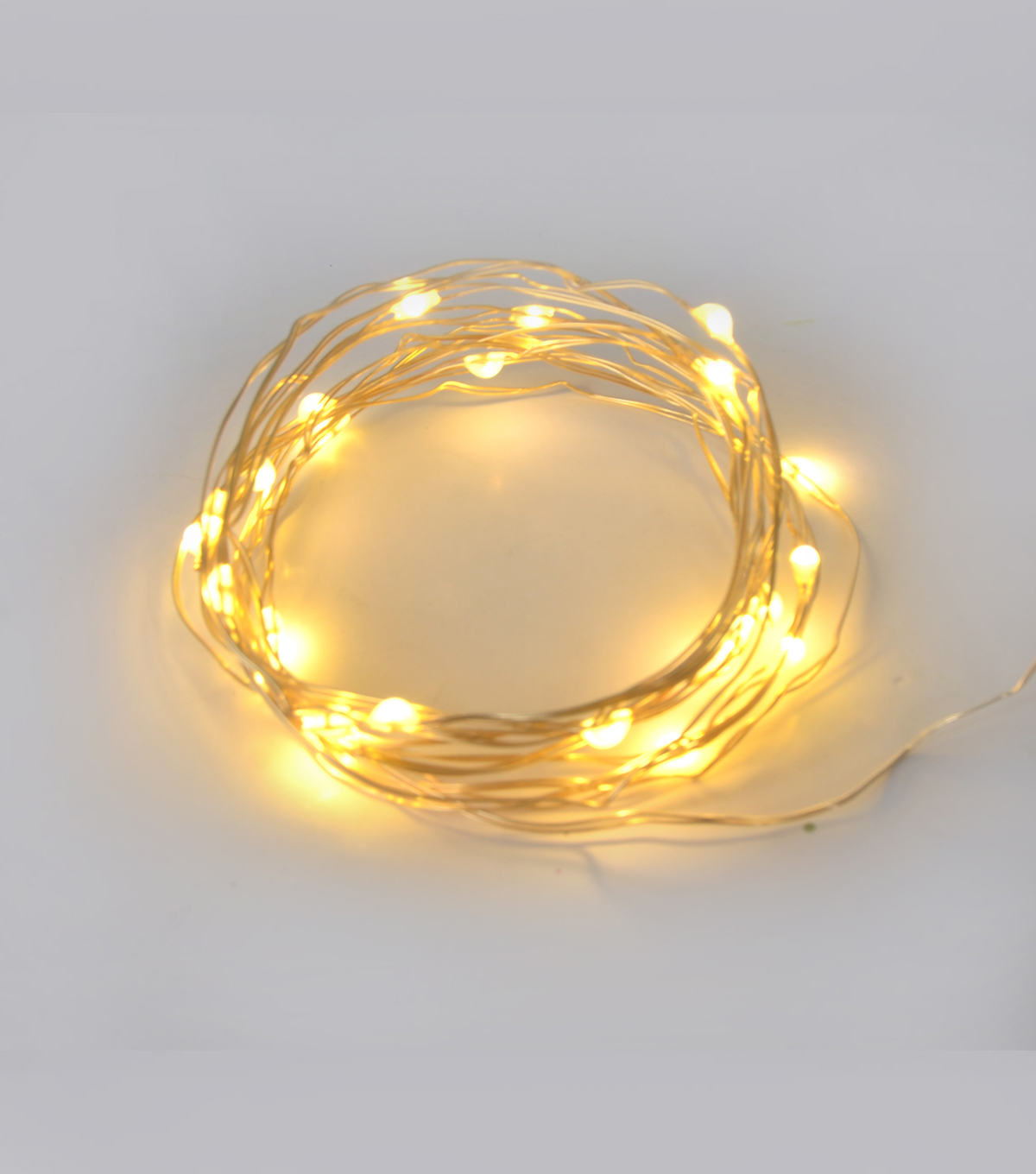 Bloom Room 25ct Battery Operated Rice Light Strand-Gold