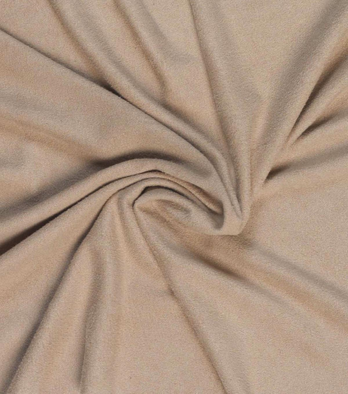Cosplay by Yaya Han Stretch Suede Fabric 59\u0022-Beige