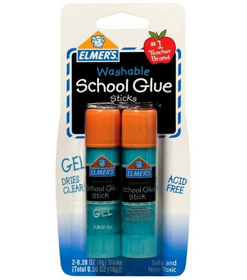 Elmers Washable School Glue Gel Glue Sticks