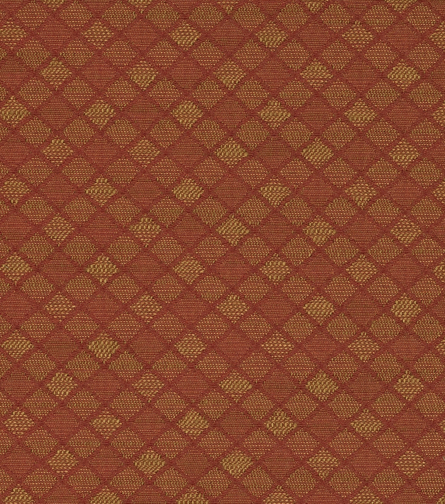 Home Decor 8\u0022x8\u0022 Fabric Swatch-Crypton Juliette Tonal Scale Diamond-Paprika