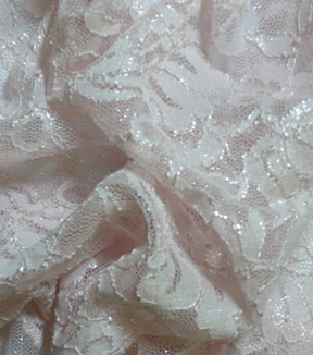 Casa Collection Stretch Lace Fabric 54\u0022-Rosewater
