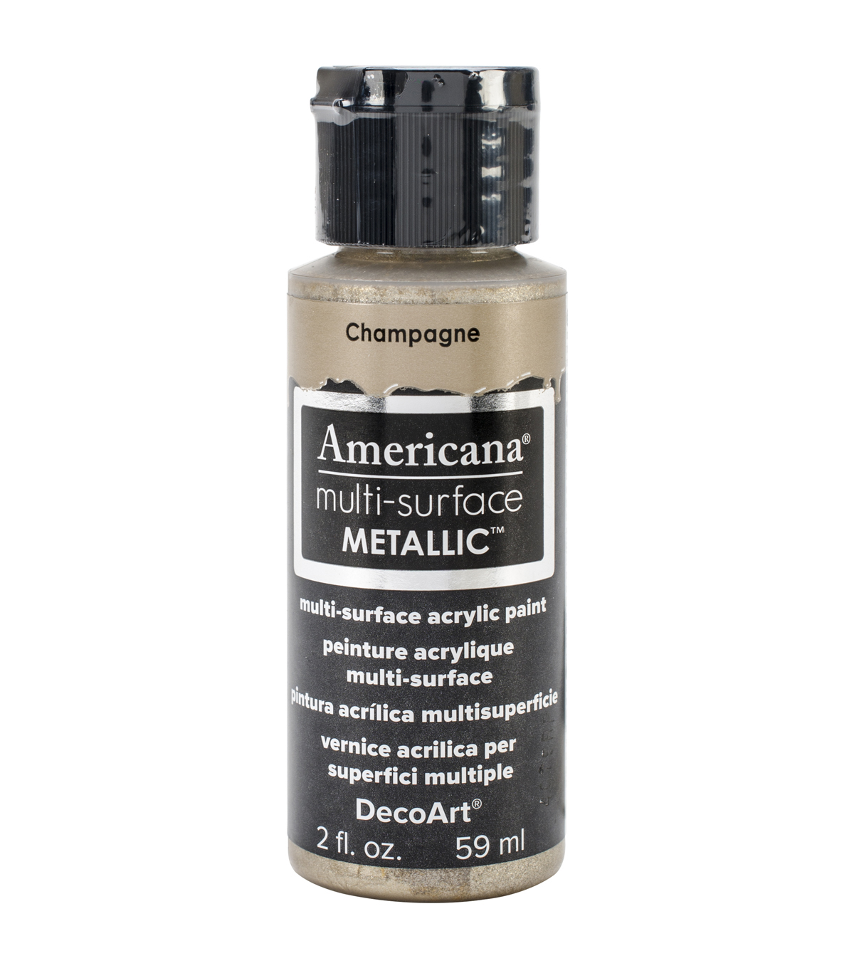 DecoArt Americana Multi-Surface Satin Acrylic Paint-Champagne