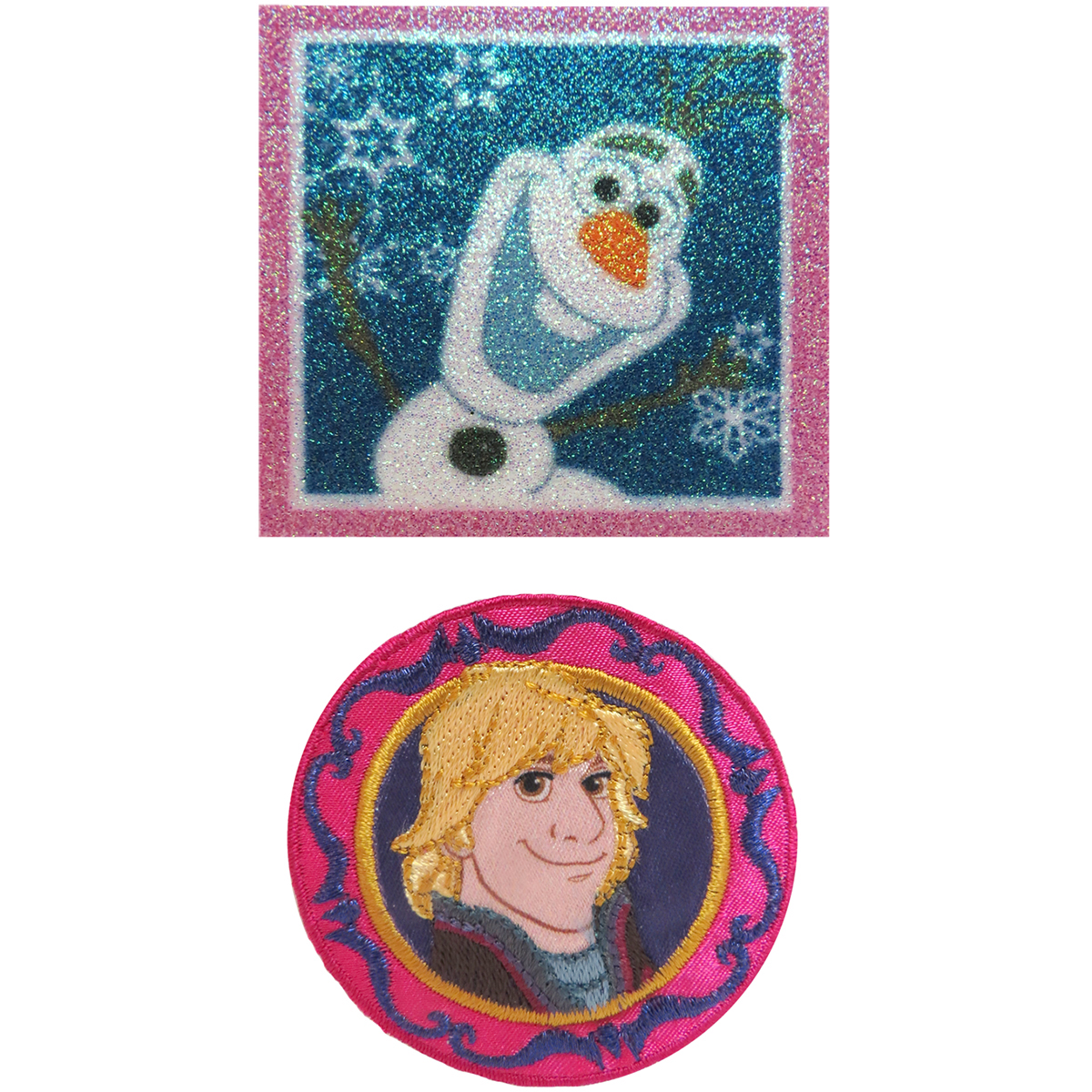 Disney Frozen Olaf & Kristoff Iron-On Appliques