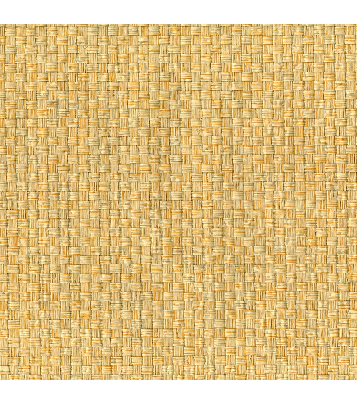 Kuan-Yin Cream Grasscloth Wallpaper Sample