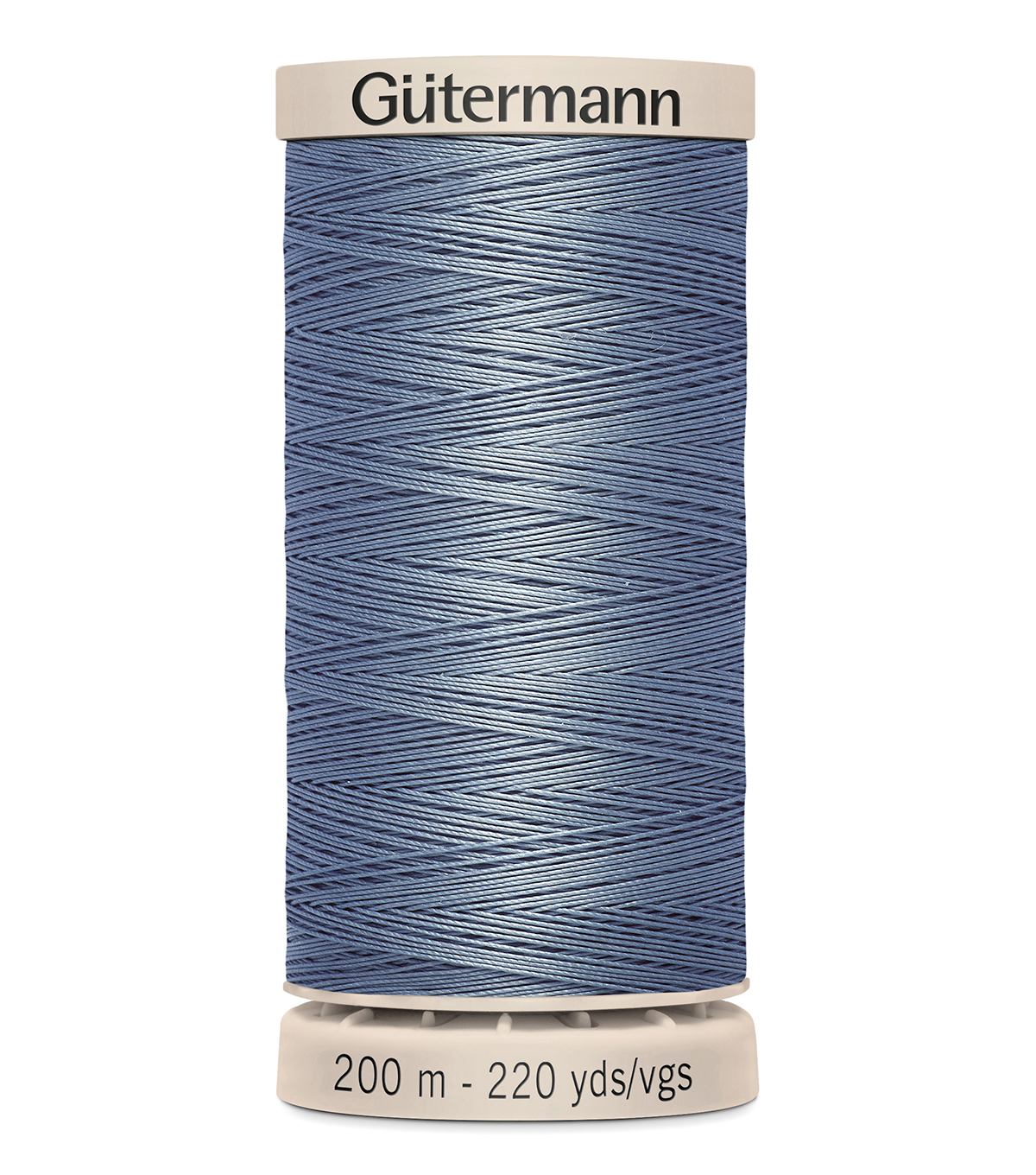 Gutermann Hand Quilting Thread 200 Meters (220 Yrds)-Primary, Light Slate Blue #5815