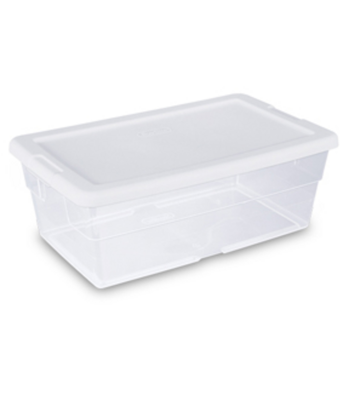 Sterilite 6 Qt Storage Box White JOANN