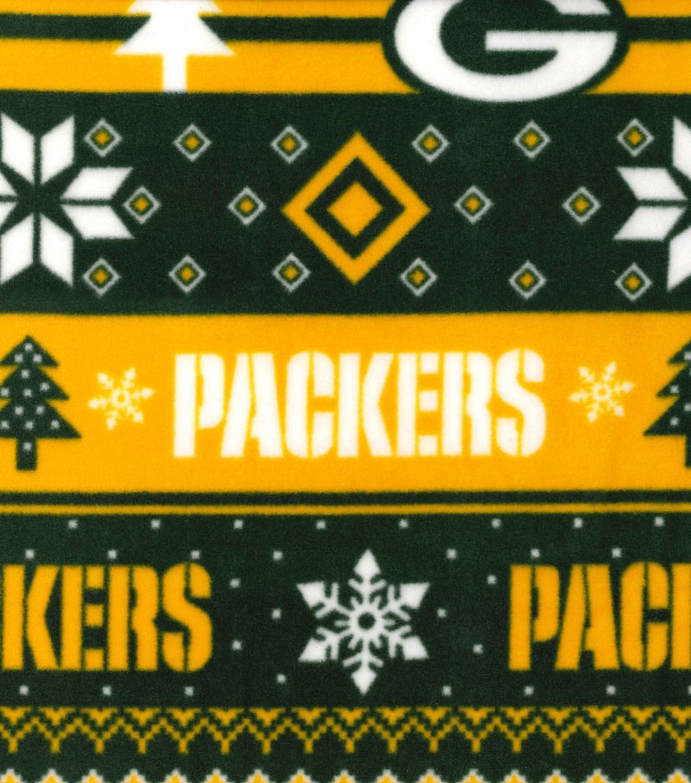 Green Bay Packers Fleece Fair Isle JOANN