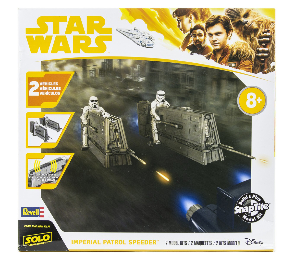 Snap Tite Plastic Model Kit-Imperial Patrol Speeder