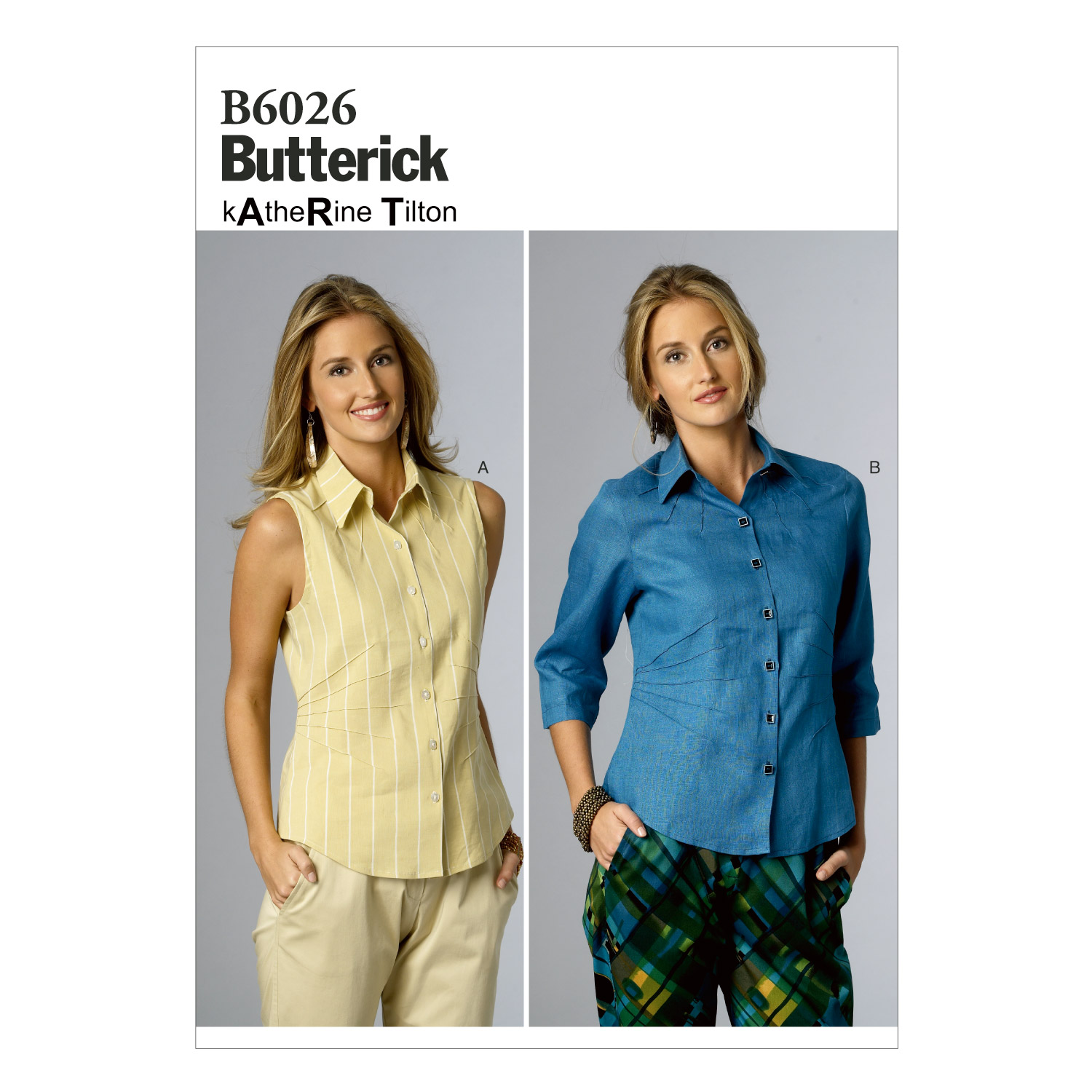 Butterick Misses Top-B6026