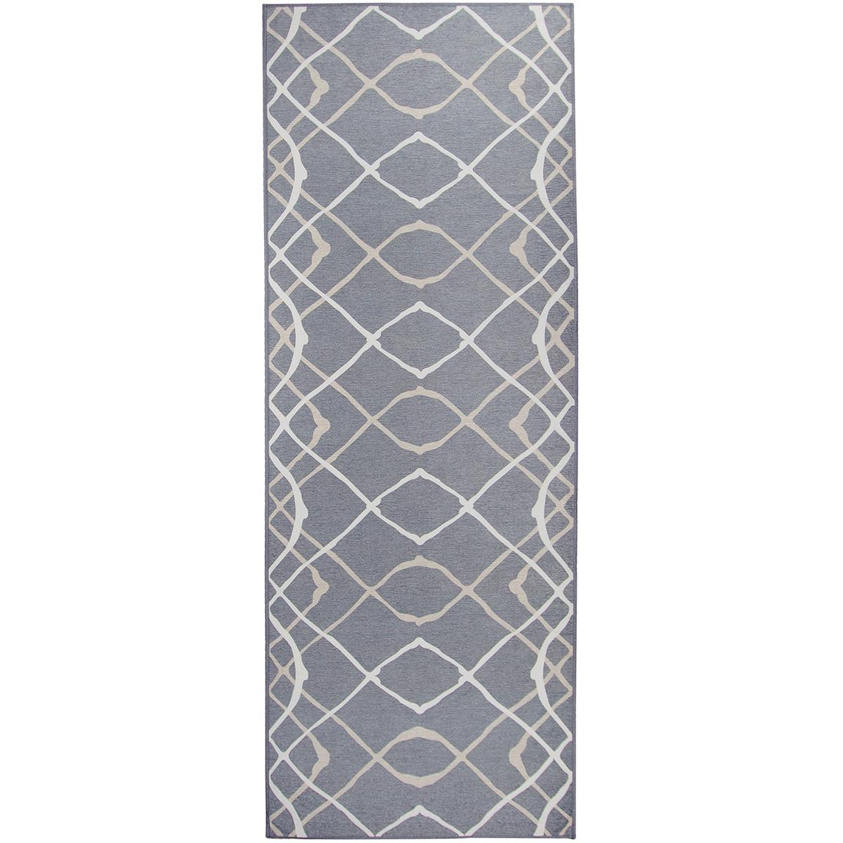 Ruggable Washable 2 5x7 Runner Rug Amara Grey