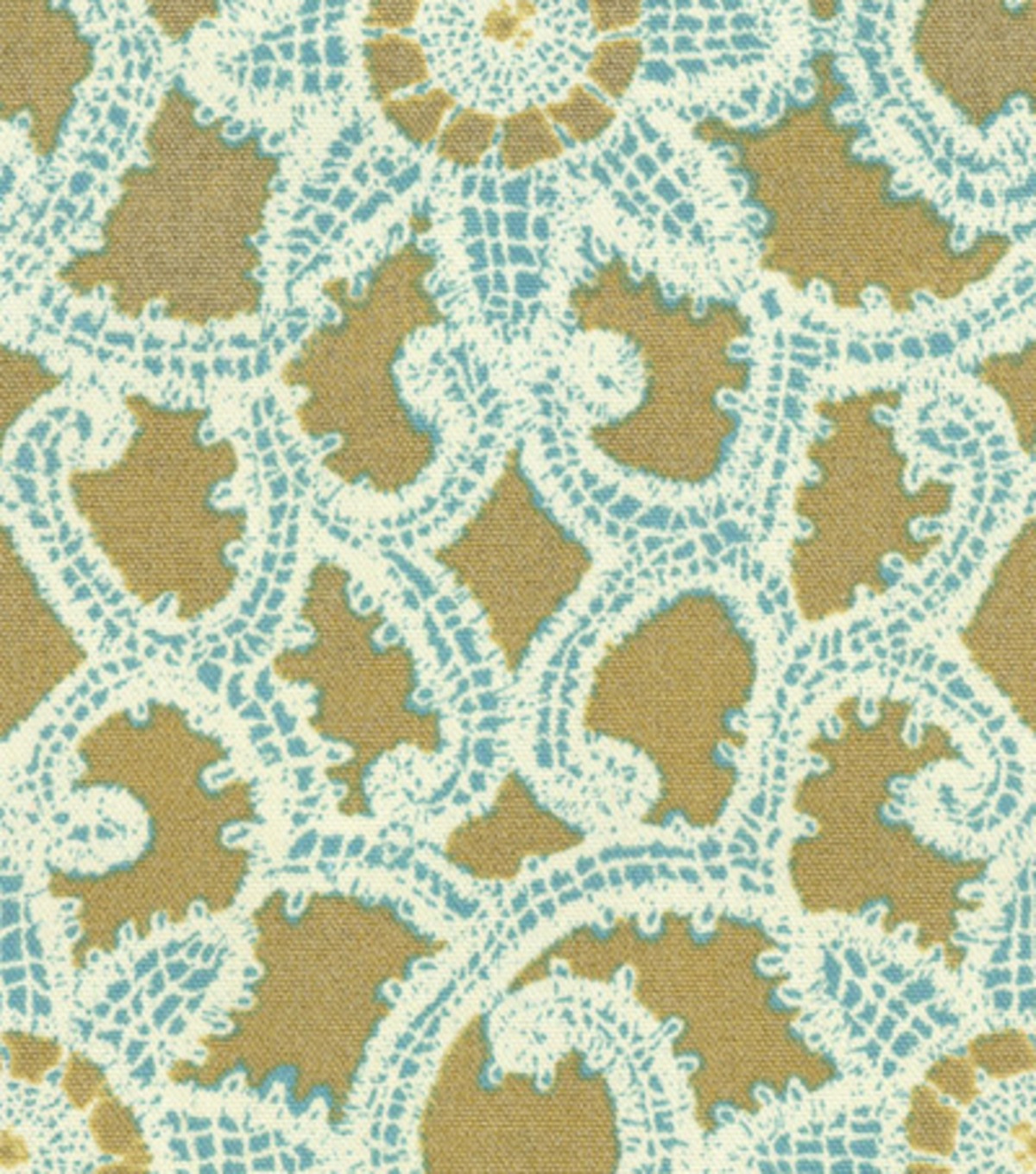 Home Decor 8\u0022x8\u0022 Fabric Swatch-HGTV HOME Like Lace Topaz