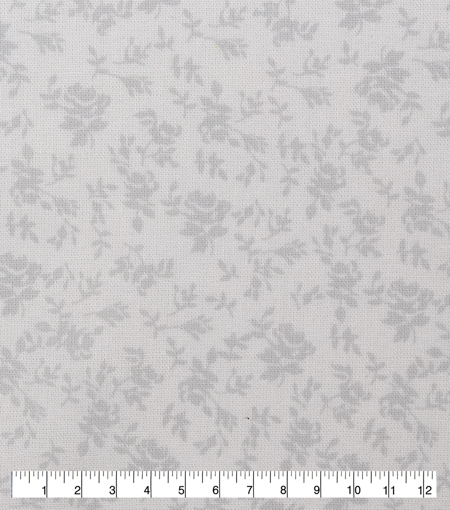 Keepsake Calico Cotton Fabric-White Packed Floral