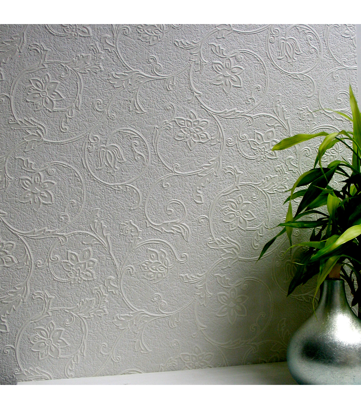 Heaton Paintable Textured Vinyl Wallpaper Sample