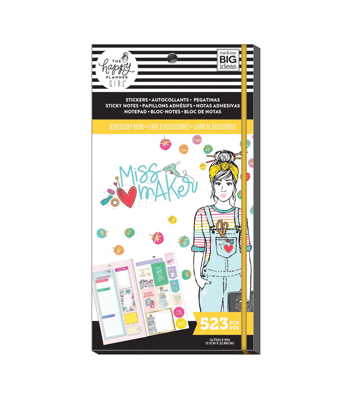 The Happy Planner Girls Accessory Book-Miss Maker