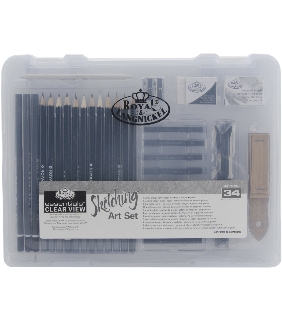 Clearview Small Sketching Art Set-