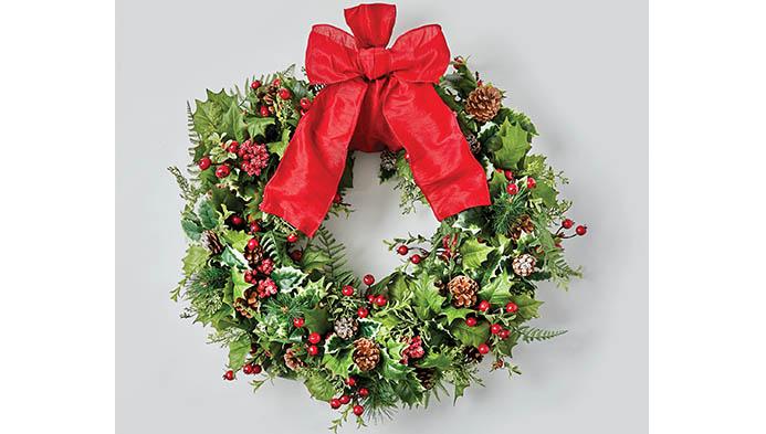Wreath Floral Arranging