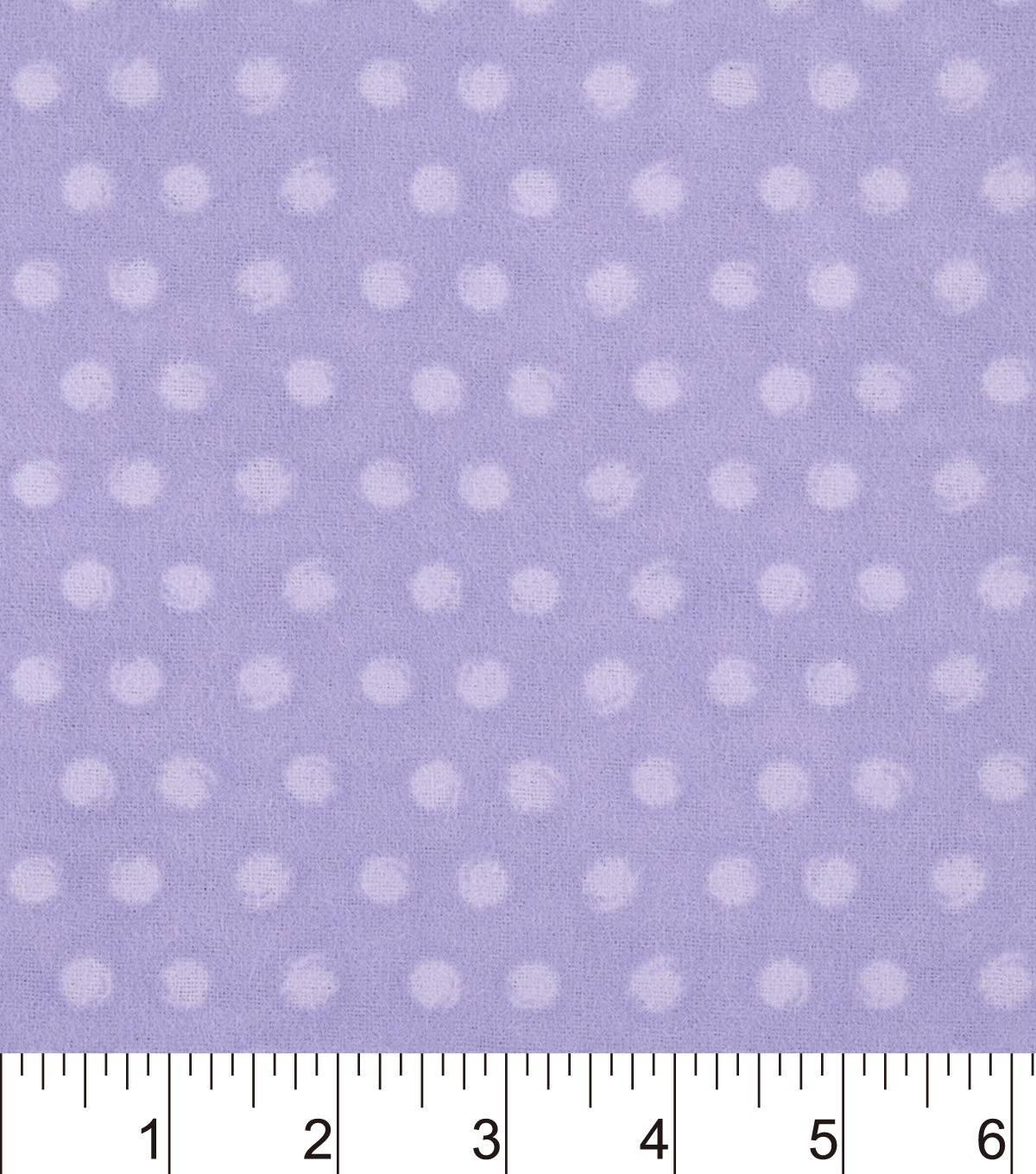 Snuggle Flannel Fabric -Purple Dot