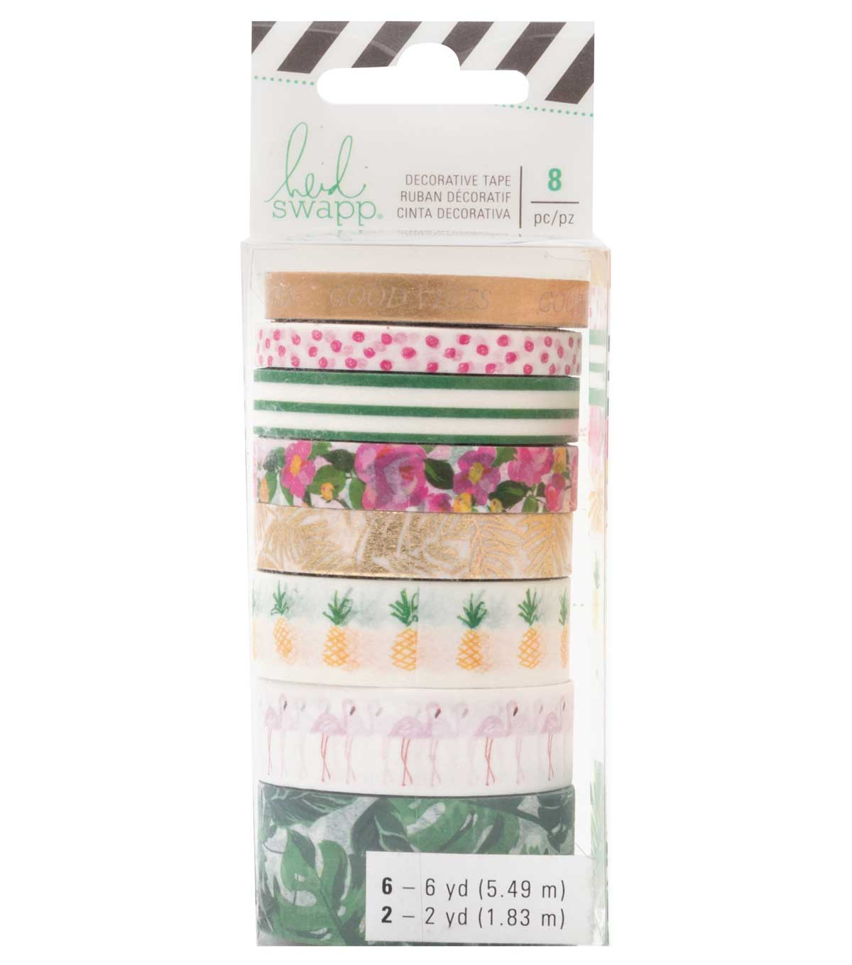 Heidi Swapp Fresh Start Washi Tape-Tropical