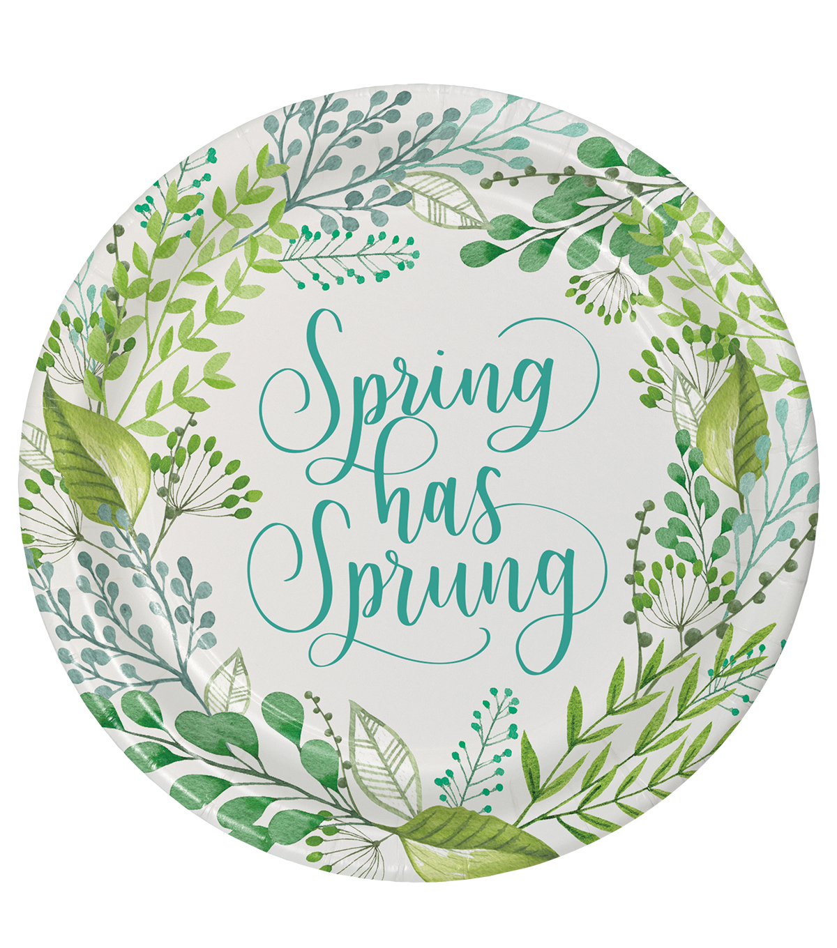 Hello Spring 8 pk Paper Dinner Plates-Spring Has Sprung  sc 1 st  Joann & Hello Spring 8 pk Paper Dinner Plates-Spring Has Sprung | JOANN