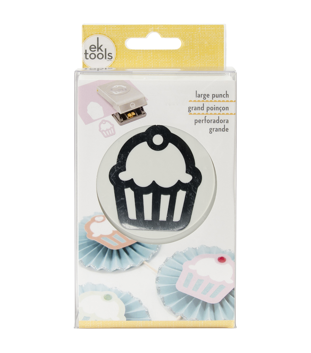 EK Tools Large Punch Cupcake