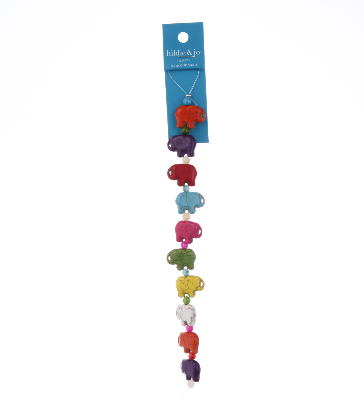 Advantus/Sulyn Fiesta Elephants Bead Strand, Small Multi
