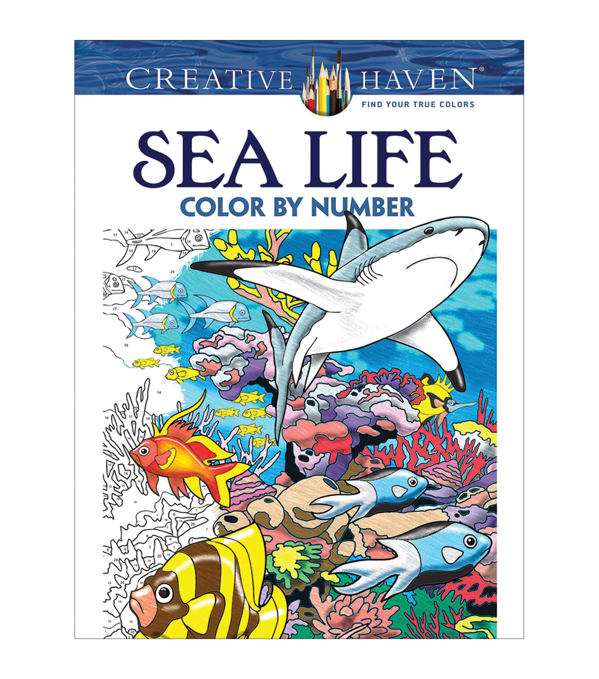 Sea Life Color by Number Book | JOANN
