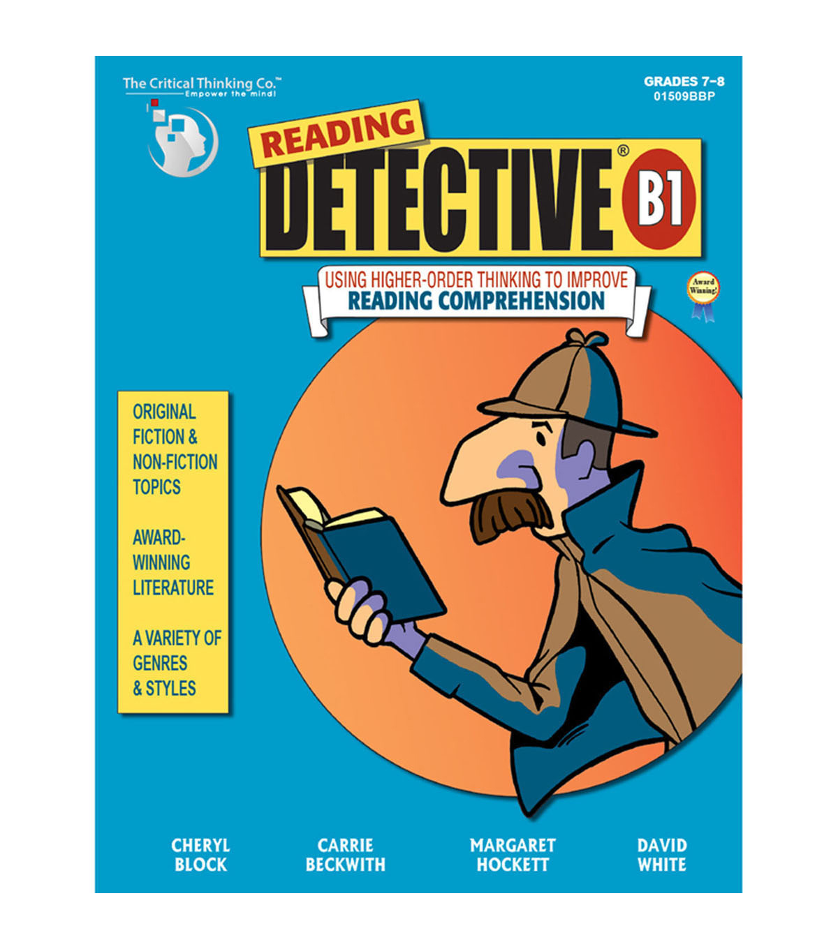 Reading Detective B1 Book for Grades 7-8