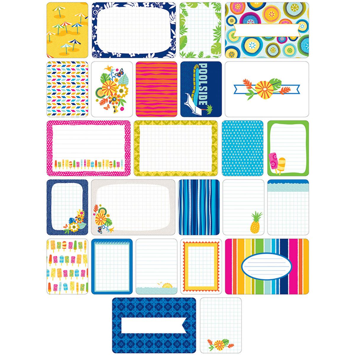 Project Life Themed Cards 60pkg Tropical Joann