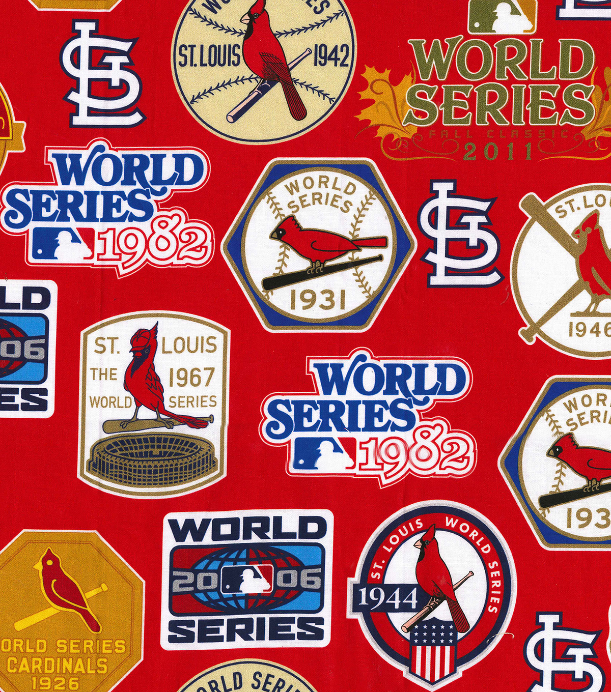 sneakers for cheap bb286 be902 St. Louis Cardinals Cotton Fabric -Champion Legacy