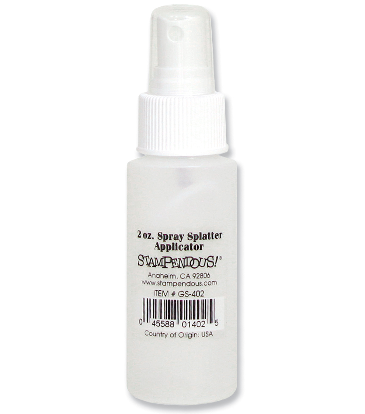 Stampendous 2 oz. Plastic Spray Splatter Applicator