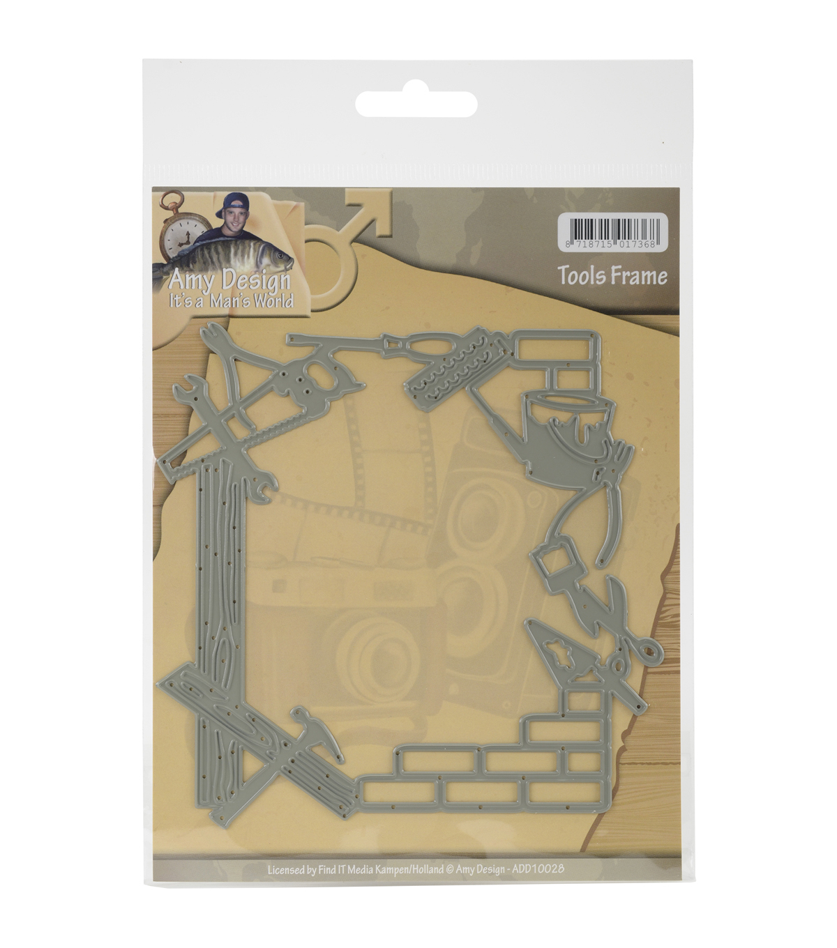 Amy Design It\u0027s A Mans World Die-Tools Frame