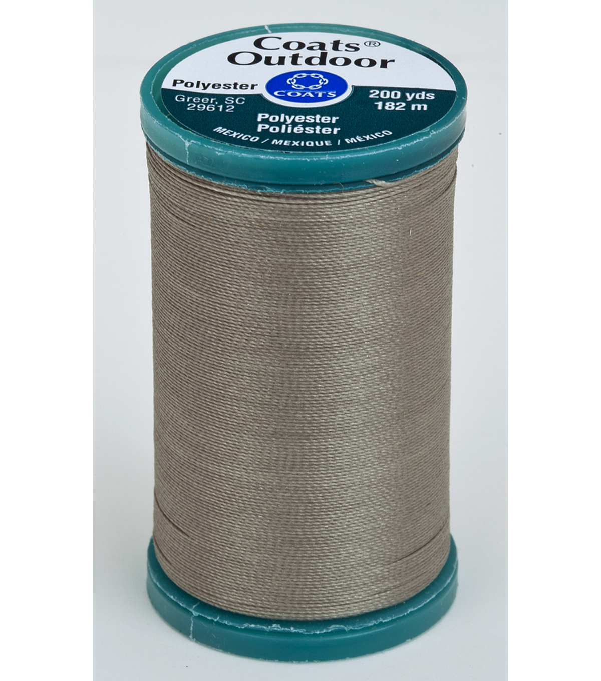 Coats & Clark Outdoor 200yd Thread, Coats Outdoor 200yd Steel