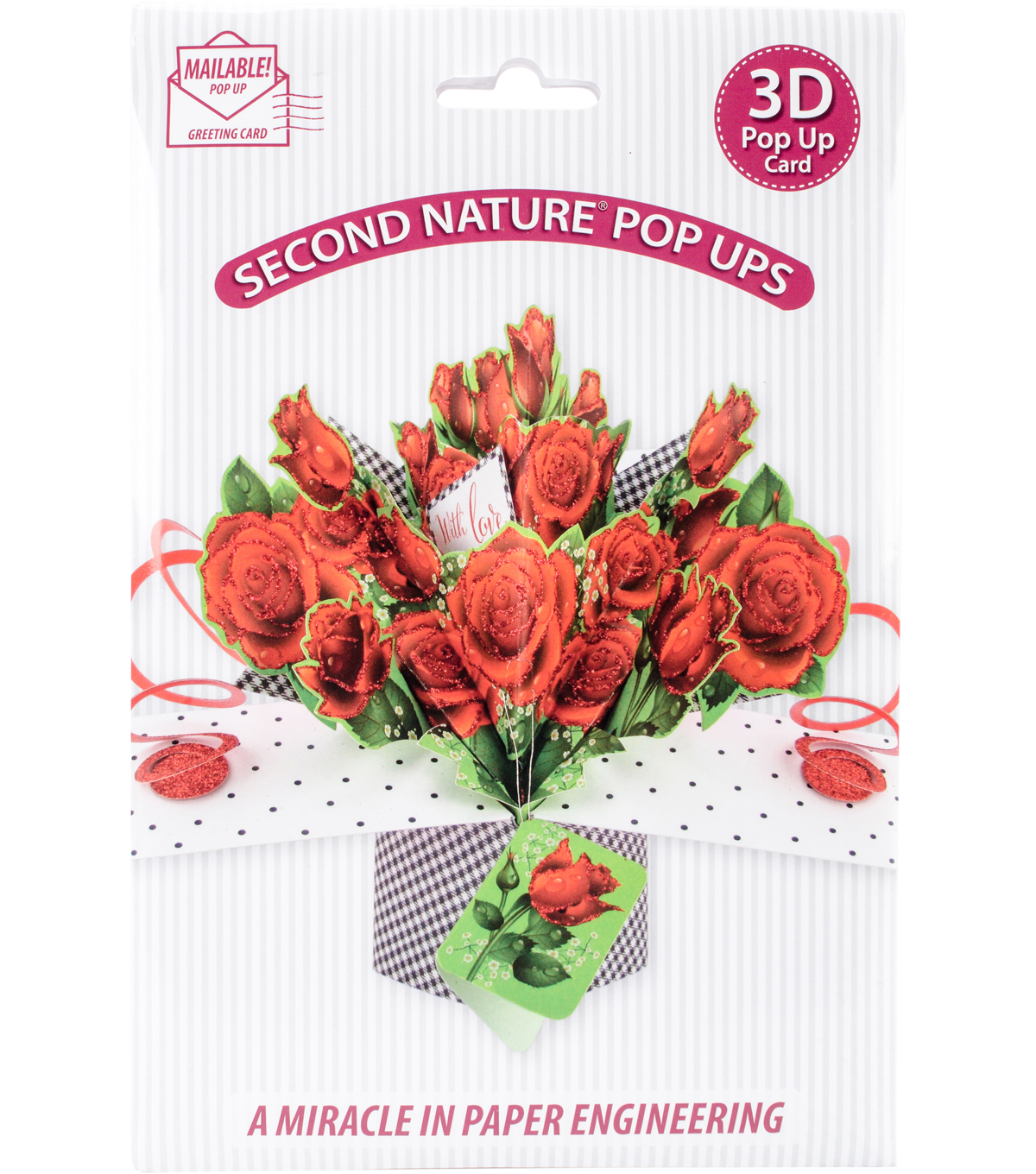 Express Yourself MIP 3D Pop-Up Card-Rose Bouquet with Love