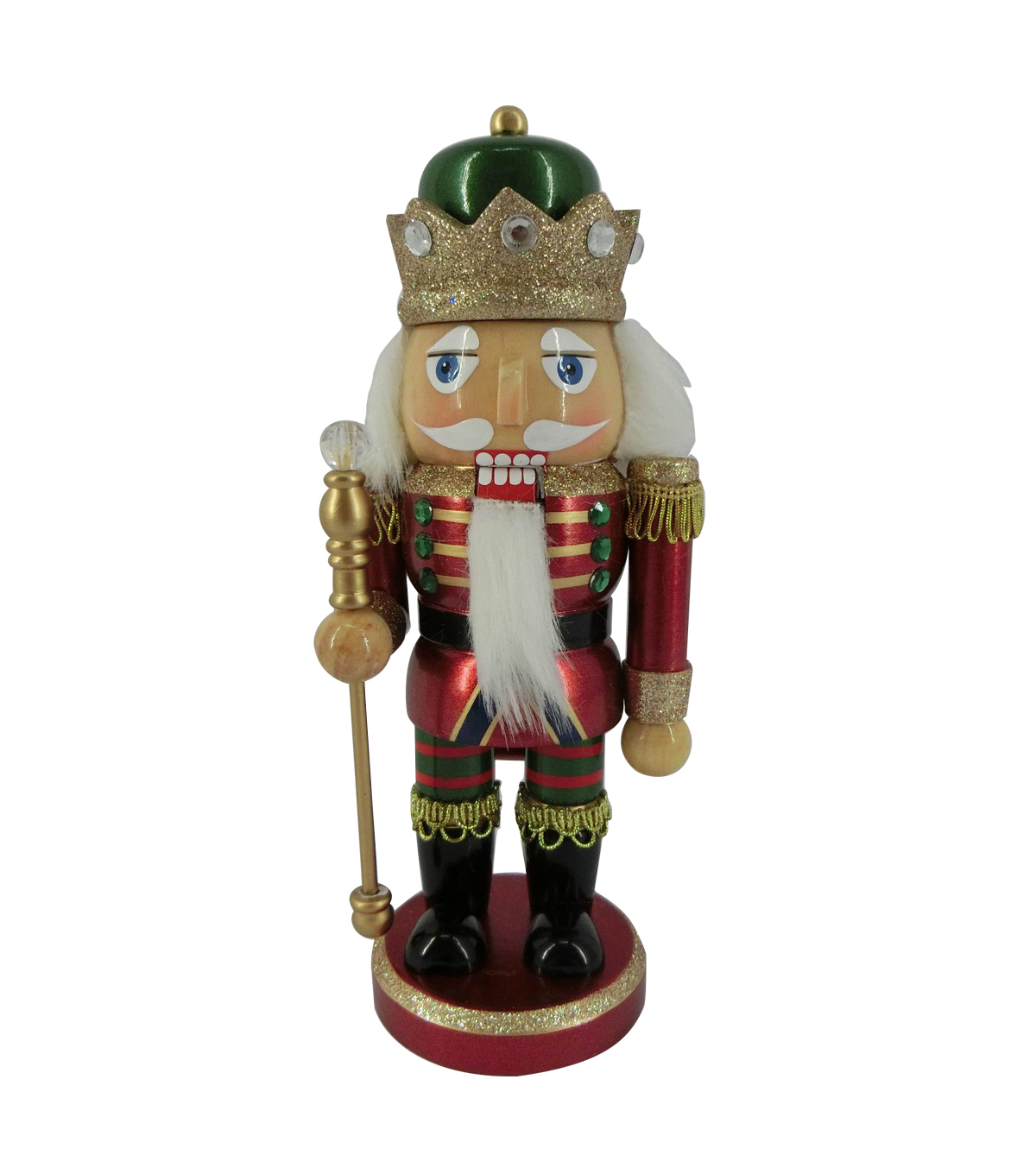 Maker\u0027s Holiday Christmas 9\u0027\u0027 King Nutcracker