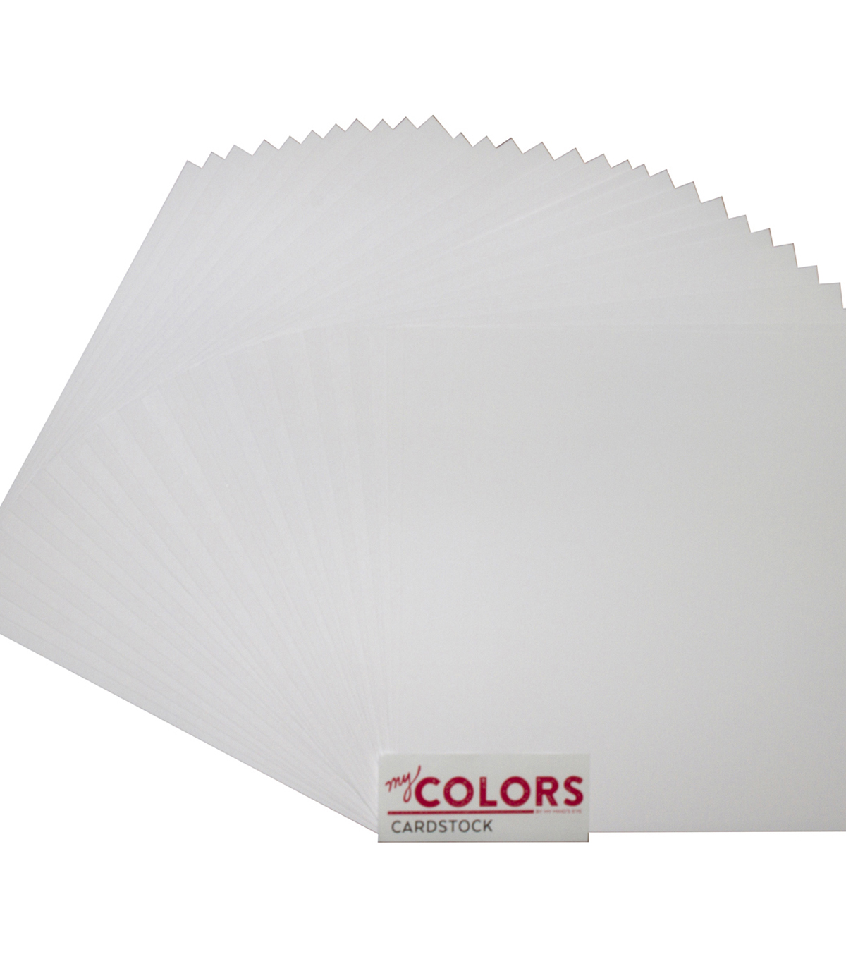 My Mind\u0027s Eye My Colors Classic 30 pk 12\u0027\u0027x12\u0027\u0027 Premium Cardstock-White