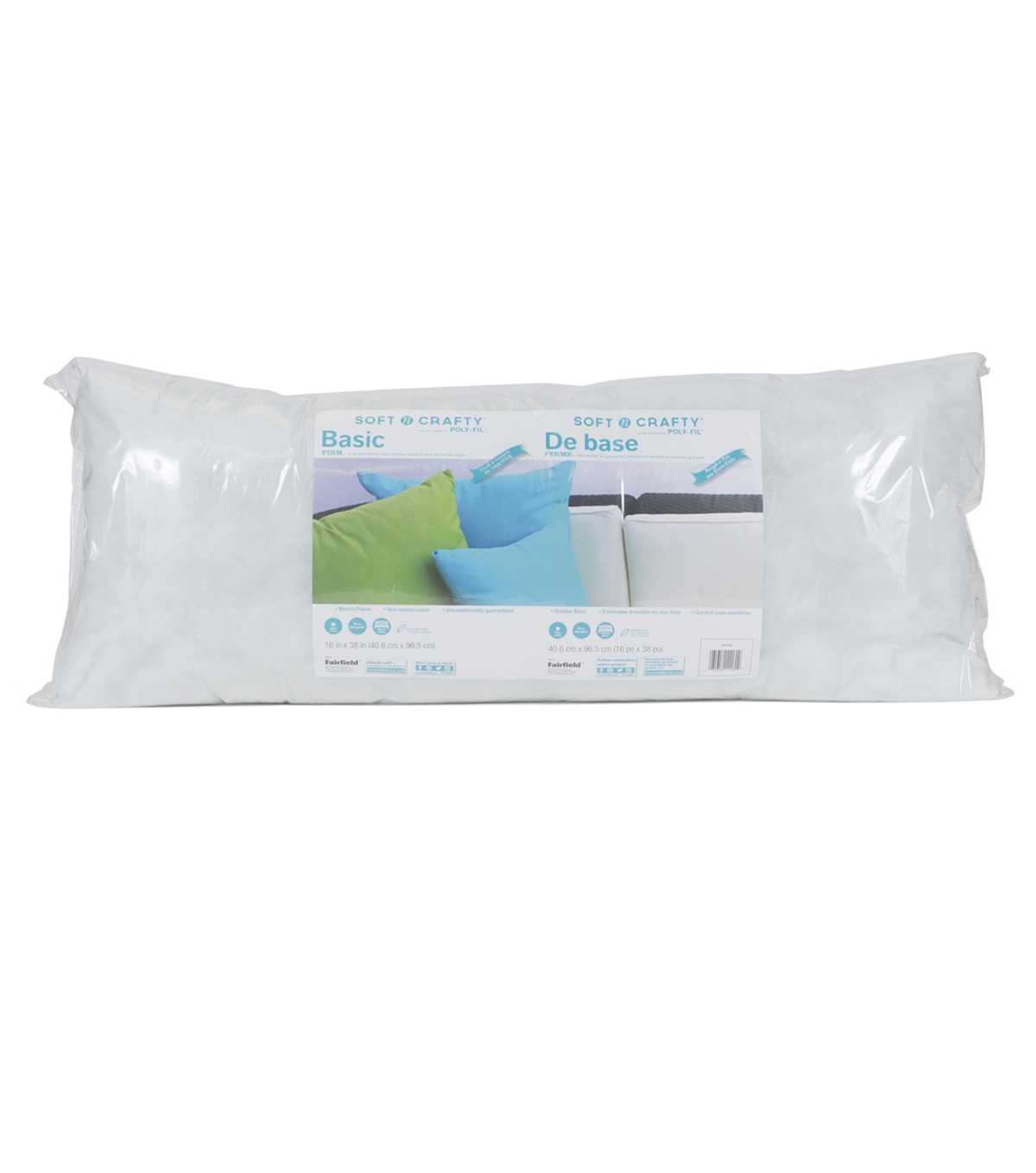 Fairfield Soft N Crafty 16\u0027\u0027x38\u0027\u0027 Basic Pillow