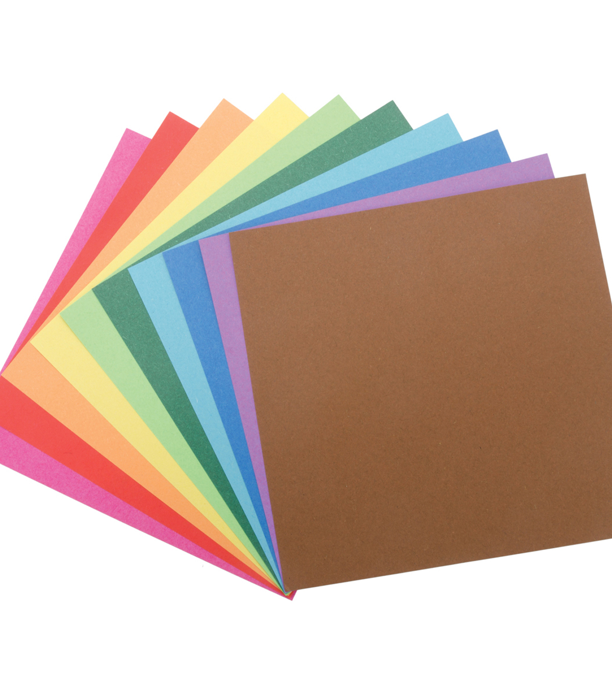 Folia Solid Origami Paper 6\u0022X6\u0022 500/Pkg-Assorted Colors