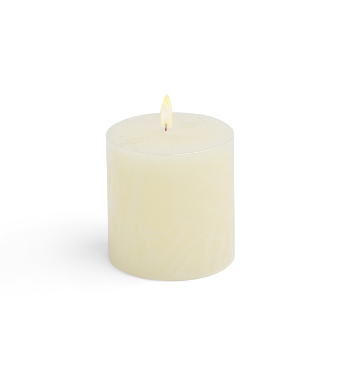Hudson 43 Candle & Light Collection 3X3 Pillar Ivory