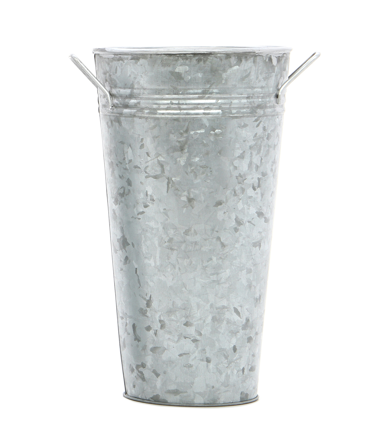 Galvanized French Bucket 9\u0027\u0027