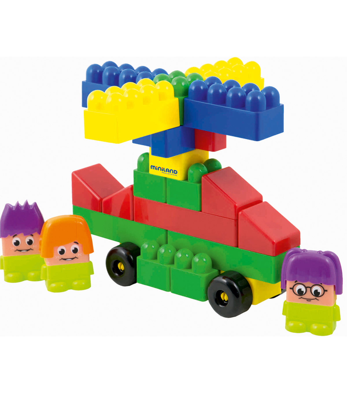 Miniland Blocks Super, Pack of 32