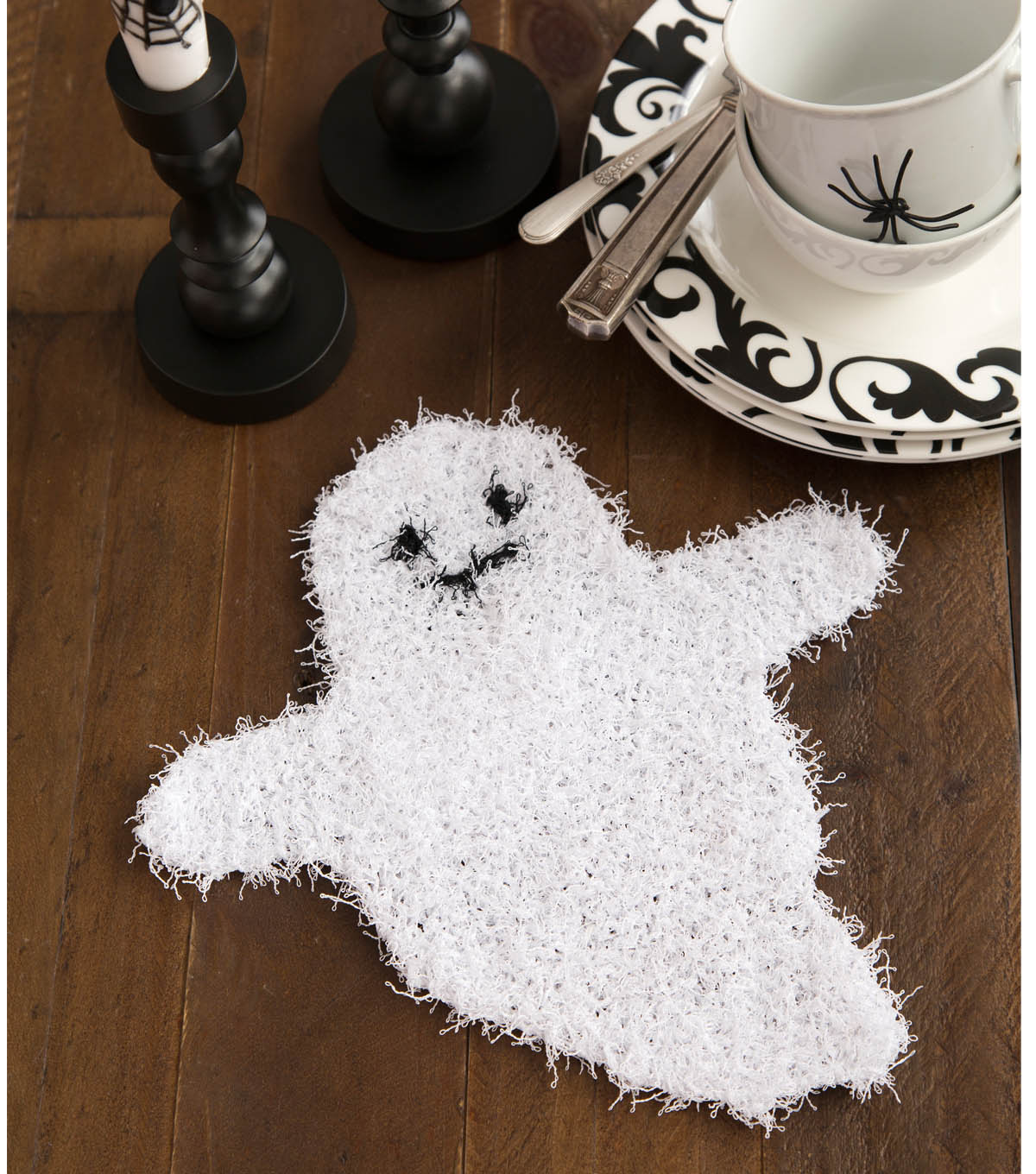 Ghostly Dish Scrubber