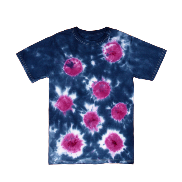 Sunburst Tie Dye Technique T-shirt