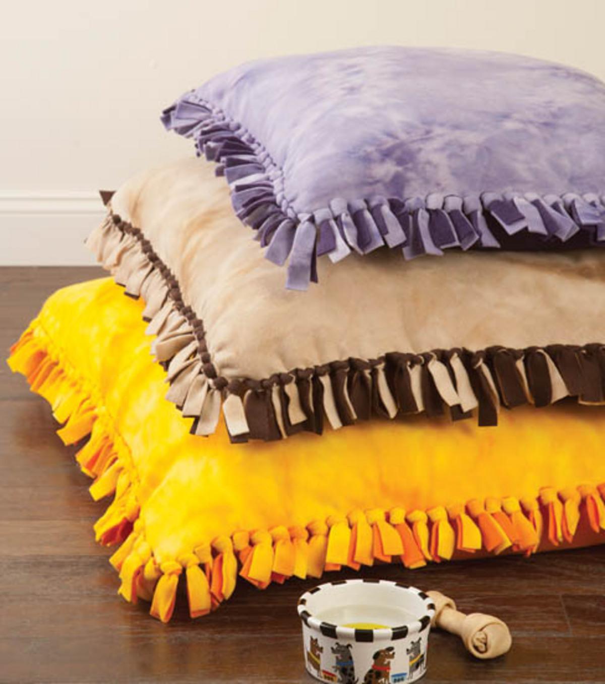 No Sew Dog Bed Joann