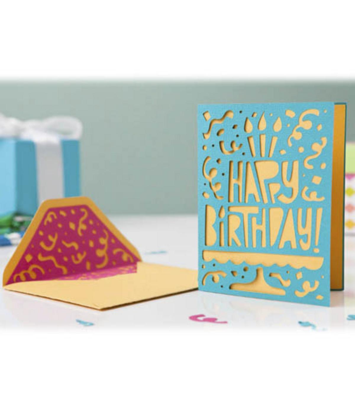 cricut mini celebrate card and envelope joann rh joann com Cricut Owner's Manual Cricut Expression Manual